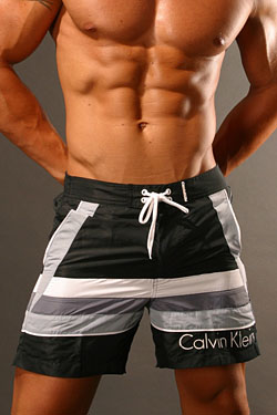 beach shorts von calvin klein badehose. Black Bedroom Furniture Sets. Home Design Ideas